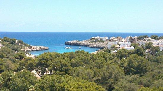 Hotel Club Cala Marsal: superbe vue de la chambre sur la crique