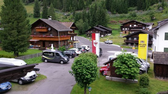 Alpengasthof Zollwirt: Aussicht vom Balkon