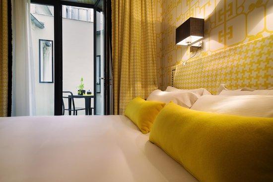 Hotel Monceau Elysees : Chambre Supérieure