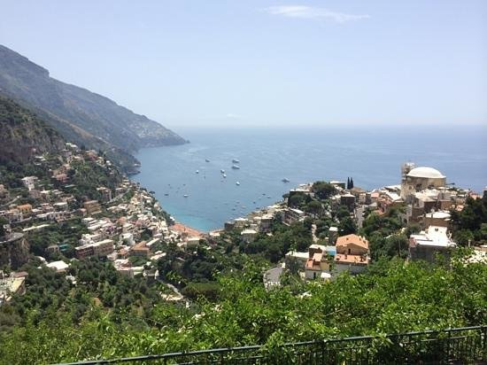 Iaccarino Sorrento Limousine Service: View from the Restaurant Constantine.