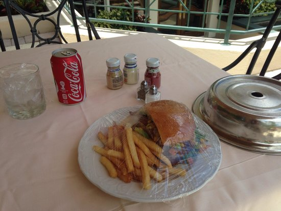 Saddlebrook Resort Tampa : lunch Tray