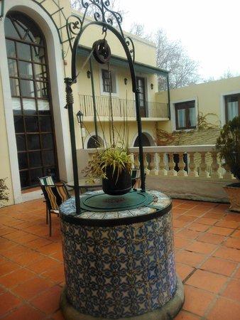 Don Antonio Posada: terraço superior