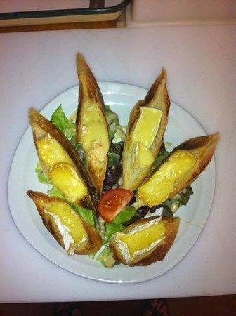 Rôtisserie Sandwicherie La Pomme Doree : trio de fromage Normand