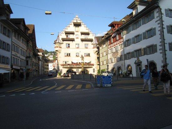 City-Hotel Ochsen Zug : Hotel Ochen am Kohlinplatz, Zug