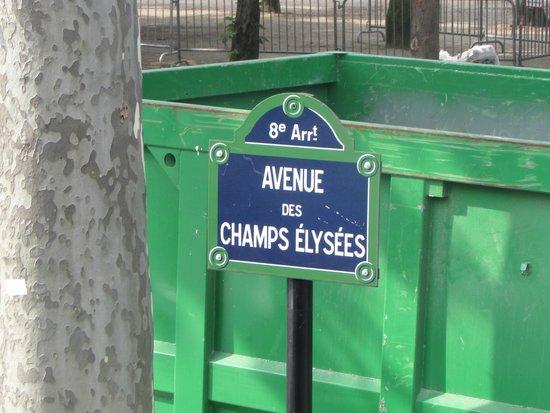 Champs-Élysées : Indicação
