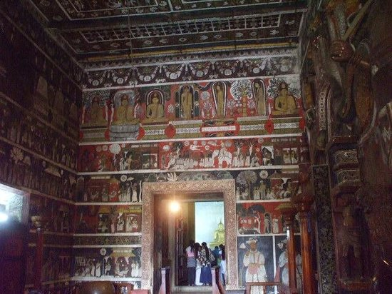 Kelaniya Raja Maha Vihara: 内壁の画