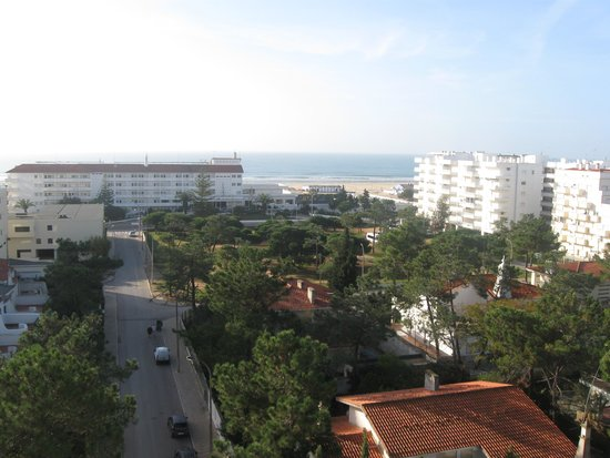 Alcazar Hotel & SPA: Het uitzicht vanaf het balkon