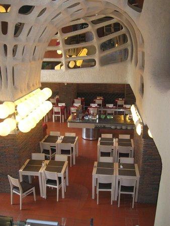 Alcazar Hotel & SPA: Klein gedeelte van het restaurant