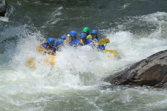 Arkansas Valley Adventures - Day Trips : The advanced trip is way more wet than the others.