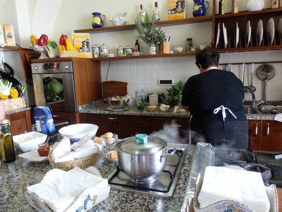 Mamma Agata - Cooking Class : Kitchen