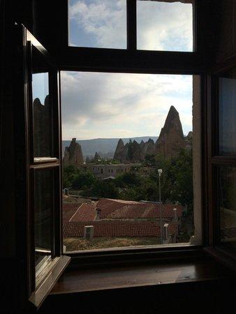 Cappadocia Cave Suites: Window View