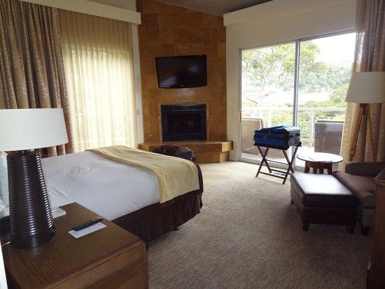 Carmel Valley Ranch: bedroom area of a suite