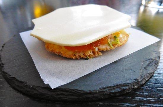 Funky Gourmet: Greek bottarga with white chocolate