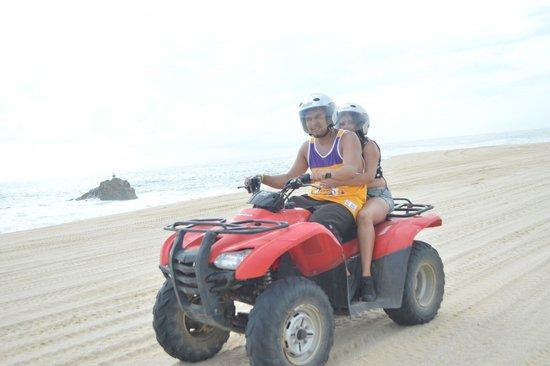 Cactus ATV Tours : Double ATV Ocean