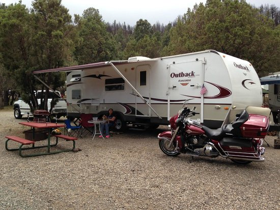 Bonito Hollow RV Park & Campground: Road Trip with the Harley