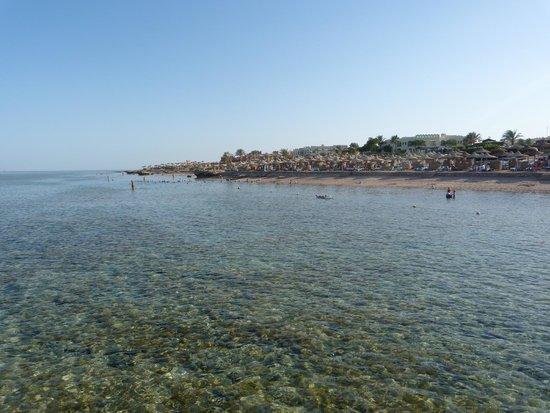 Charmillion Club Aqua Park : beach area