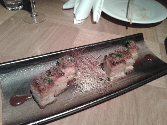Nobu - Berkeley Street : Crispy Pork Belly
