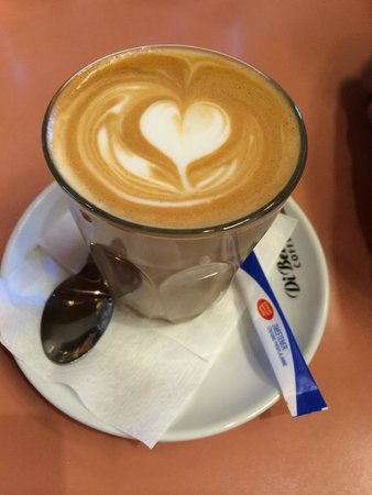 Olinda Cafe : Latte with love