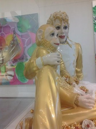 Astrup Fearnley Museet : Michael Jackson by Jef Koons