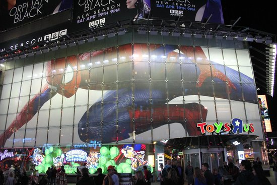 Hilton Times Square: More lighting