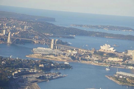 Sydney Harbour: View from the plan 2