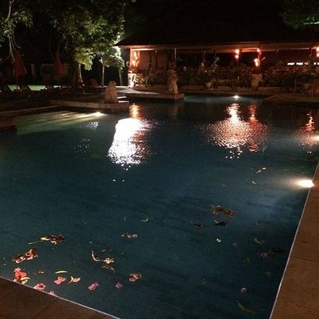Mercure Resort Sanur: Pool view from the restaurante