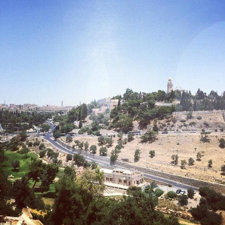 Mount Zion Hotel: Вид из окна