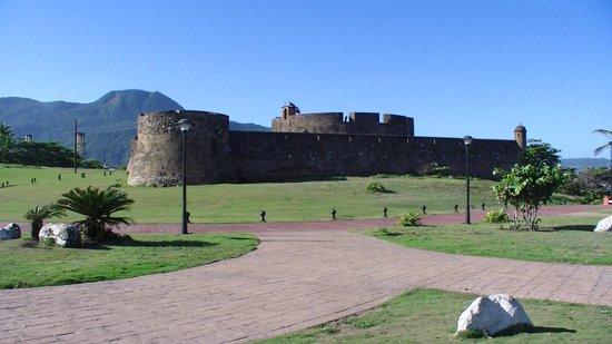 Fort San Felipe: outside of the fort