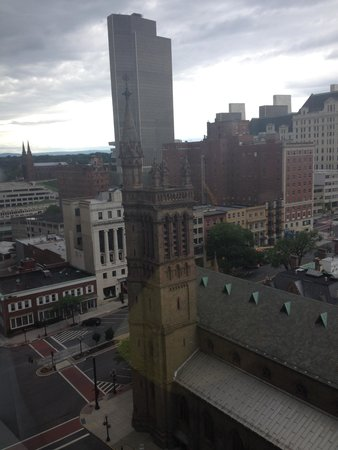 Hilton Albany : View from our room