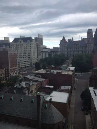 Hilton Albany: Veiw from our room