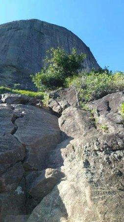 Pedra da Gávea: Subida da carrasqueira