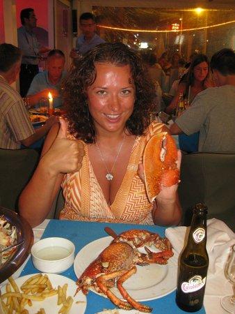 Le Flore : Той самый омар (2,5 кг), но уже гриль. Вкуснотища!!!