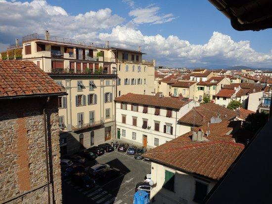 Hotel Rapallo: Uitzicht vanop balkon