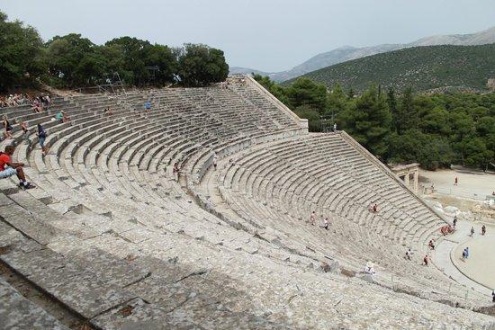 Théâtre d'Épidaure : théatre d'Epidaure