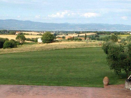 Locanda Poggioleone: Breathtaking view