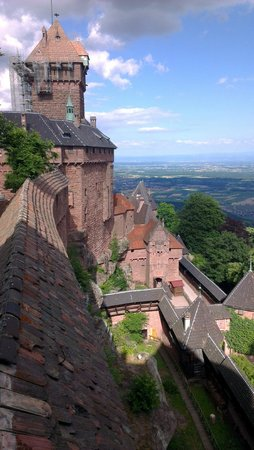 Chateau du Haut-Koenigsbourg: Le donjon du château