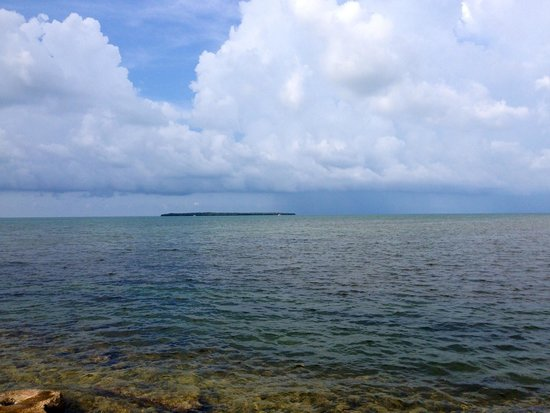 Ocean Pointe Suites at Key Largo: The view from the dock