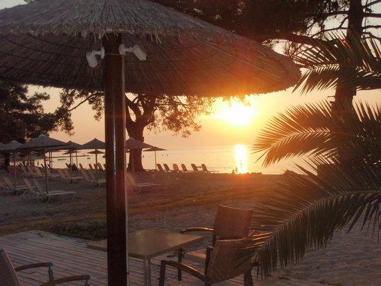 Mediterranean Apartments: sunset