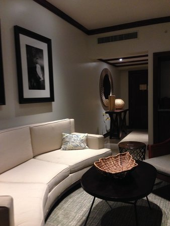 Real InterContinental at Multiplaza: Sitting area