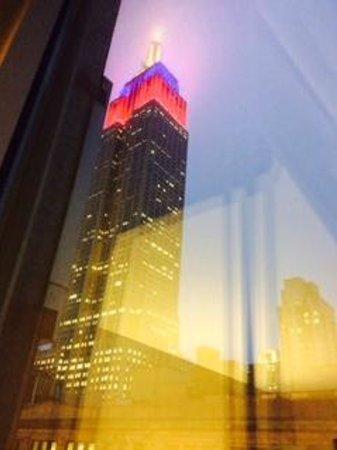 Hilton Garden Inn New York/West 35th Street: Vista da janela do meu quarto