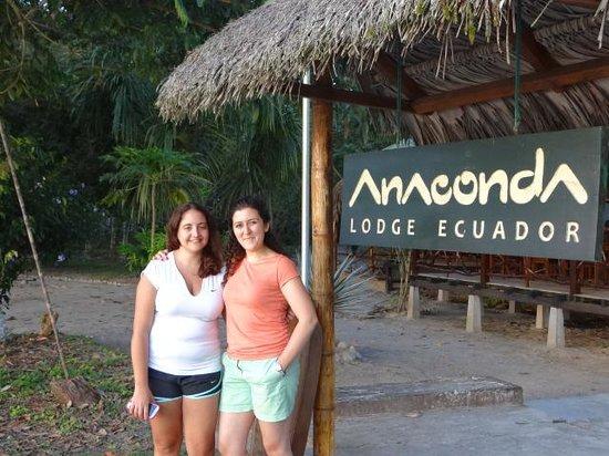 Anaconda Lodge Ecuador: Desde Paraguay e Iran a la Amazonia!