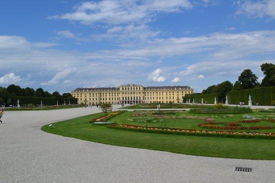 Schloss Schönbrunn: Schonbrunn Palace - back