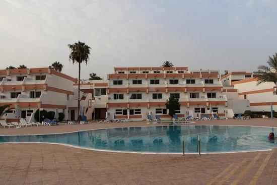 Hotel Club Al Moggar: Маленький бассейн (приват-зона)