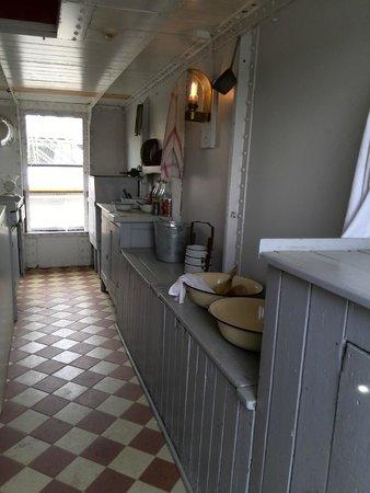 Åland Maritime Museum: Кухня