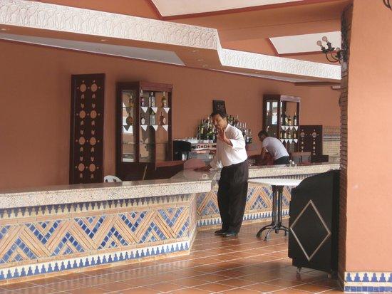 Hotel Club Al Moggar: Ресепшн
