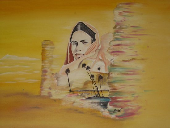 Hotel Club Al Moggar : Интерьер - марроканская живопись