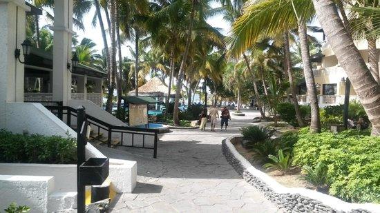 Coral Costa Caribe Resort & Spa: entrada do restaurante