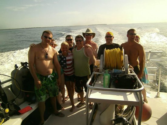 Conch Republic Divers : A great day aboard the Republic Diver