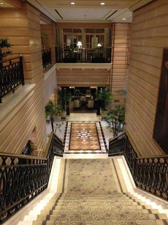 InterContinental Hotel Buenos Aires: escadaria para lounge