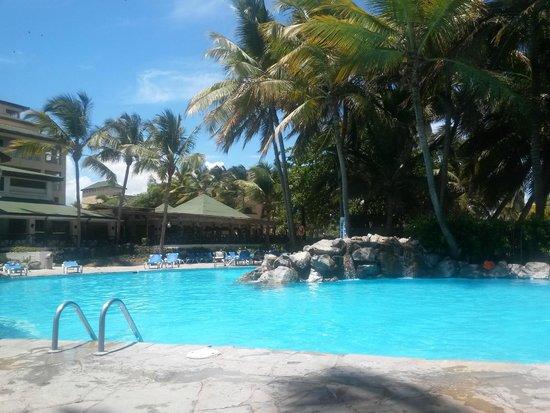 Coral Costa Caribe Resort & Spa: area de piscinas